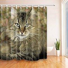 Tessuto da arredo per bagno con tenda da doccia a