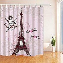 Tessuto impermeabile per camera da letto con tenda