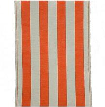 Tessuto per sedia sdraio con fasce bicolore h. 44