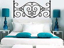 Testiera del letto adesivo creativo decorazione