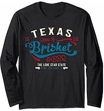 Texan Grillmaster Gift: Texas BBQ Brisket Maglia a