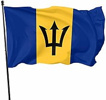 The Flag of Barbados 3x5 Foot Flag Bandiere per