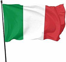 The Flag of Italy 3x5 Foot Flag Bandiera da