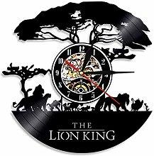 The Lion King Disney Orologio da Parete in Vinile