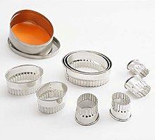 Thermohauser 8300031872 - Set di 9 stampi per