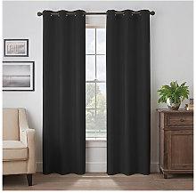 Thsinde - Tende oscuranti termiche nere a 2 pezzi