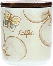 THUN -Barattolo Porta caffè in Porcellana Elegance