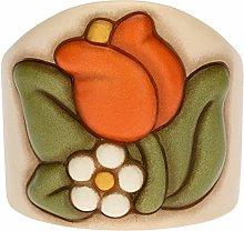 THUN ® - Porta Bicchieri Singolo in Ceramica