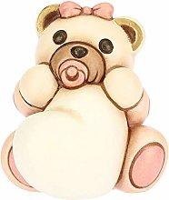 THUN - Teddy con Cuore per Bimba - Bomboniera e