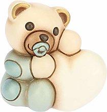 THUN - Teddy con Cuore per Bimbo - Bomboniera e