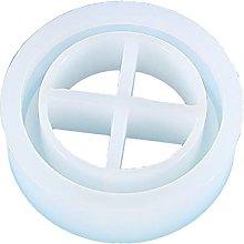 Tian-K - Scatola portaoggetti rotonda in resina