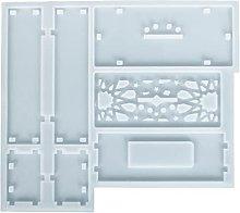 Tian-K - Stampo creativo in silicone, decorazione