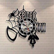 TIANZly Marvel Comics Spider-Man murale Orologio
