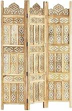 Tidyard Divisorio Vintage a 3 Pannelli Intaglio in