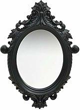 Tidyard Specchio da Parete Ovale con Cornice Stile