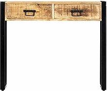 Tidyard Tavolo Consolle 90x30x75 cm in Legno