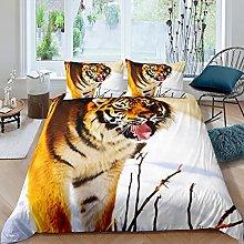 Tiger Bedding Set di biancheria da letto per