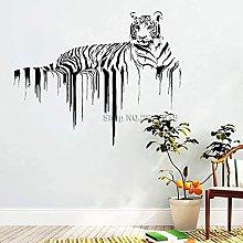 Tigre Decalcomanie da Parete Africano Orgoglio