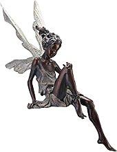 Tik LP Resina Fairy Statue Beautiful Garden Fairy