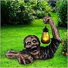 Tik LP Statua di Zombie di Halloween con GUIDATO
