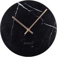 Time Orologio in marmo nero