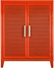 Tolix B2 Low Locker - Armadio Perforato Basso