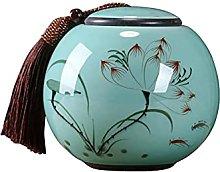 TongN - Barattolo in ceramica ermetico, lattine