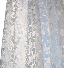TONGTONG Tenda da doccia impermeabile in PVC