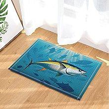 Tonno decorativo che nuota squalo nel mare
