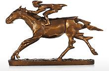 Tooarts - Cavaliere, Scultura di cavallo da