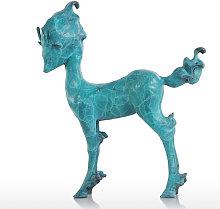 Tooarts - Tomfeel, cervo elfo, scultura moderna,