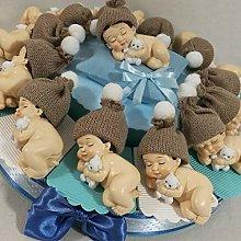 Torta bomboniera Bimbo/a Che Dorme per Battesimo