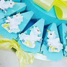 Torta bomboniera Unicorno Magnete Maschietto e