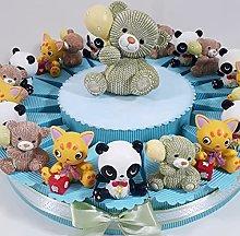 Torta bomboniere animaletti Simpatici Ideali per