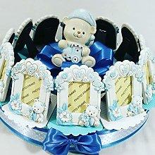 Torta di bomboniera portafoto orsetti per