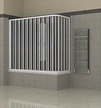 Totama - Box doccia per Vasca a Soffietto in PVC