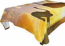 Tovaglia per tavoli rettangolari 152,4 x 228,6 cm,