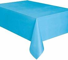 Tovaglia Plastica Azzurro Chiaro (2,74 x 1,37 m)