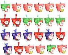 Toyvian 36pcs Sacchetti di Caramelle di Natale