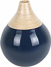 TP PT Living - Vaso Decorativo in bambù con