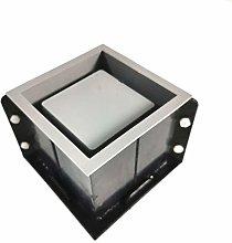 TPTPMAY Grande 12 cm quadrato in cemento vaso di