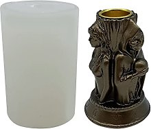 Tre strega dea divinazione altare portacandele