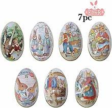Treer 7 Pezzi Uova di Pasqua, Decorazione di