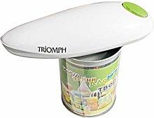Triomph etf1832apriscatole elettrico, Bianco