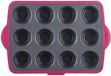 Trudeau 5050672 Silicone teglia per 12 Muffin,