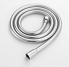 Tubo flessibile per doccia liscio in PVC argento