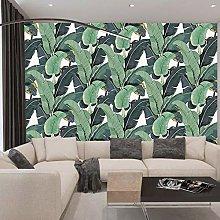 TV sfondo muro foresta pluviale tropicale foglie