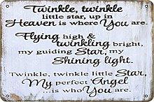 Tweinkle Tweinkle Little Star Up in Heaven Vintage