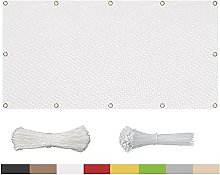 TWMHXZ Balcone Privacy Frangivista 70x270cm, per
