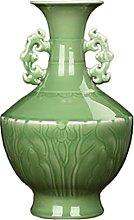 TYMBBB Fagiolo in porcellana Celadon in rilievo